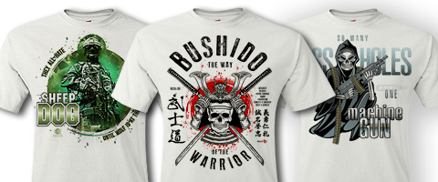 T-Shirt Bushido Warrior
